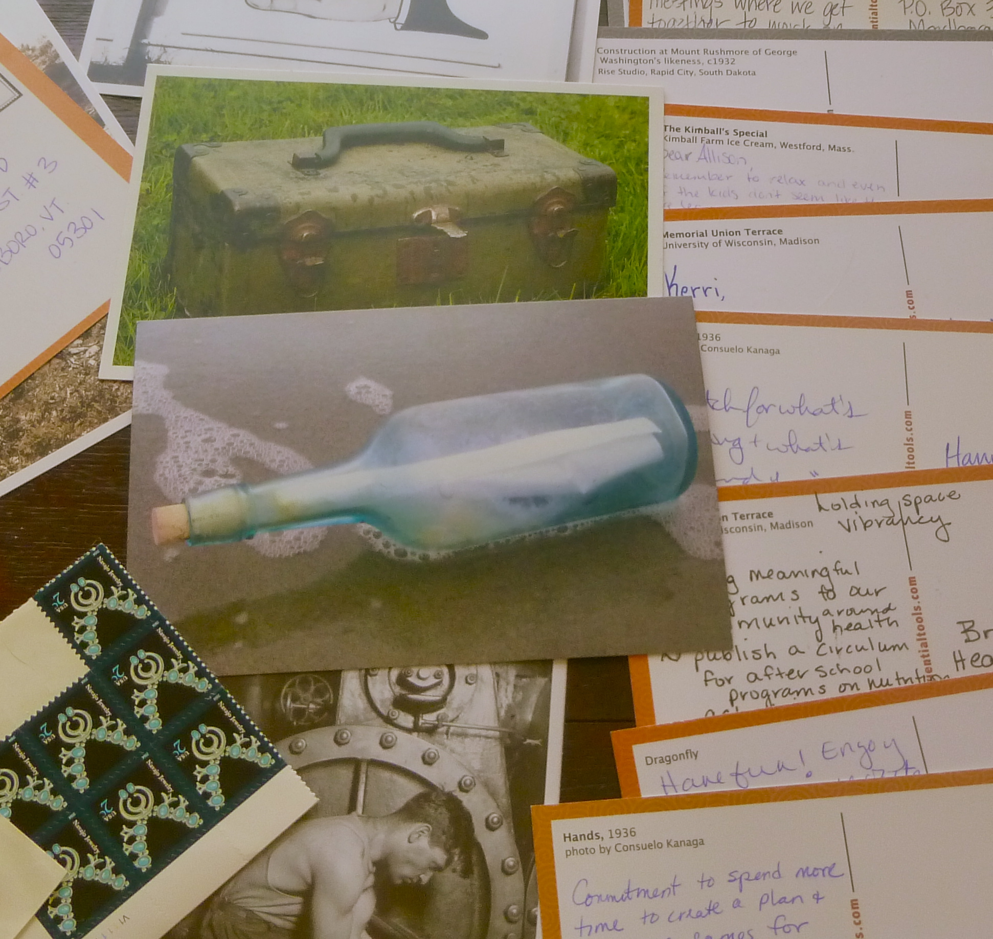 Jennifer Stanchfield's Pick -A- Postcard Reflection Toolkit