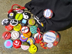 Experiential Tools Pin Back Buttons