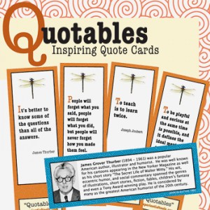 Quotables Quote Cards from Experiential Tools